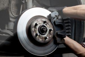 Brake repairs at Alpine Toyota